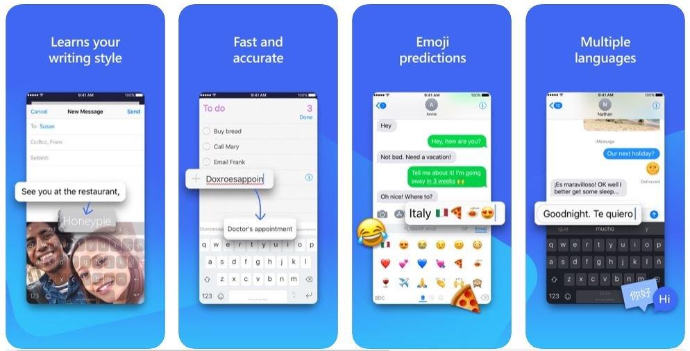swiftkey iOS toetsenbord