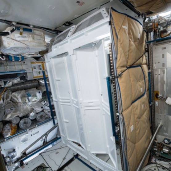 NASA toilet ruimte