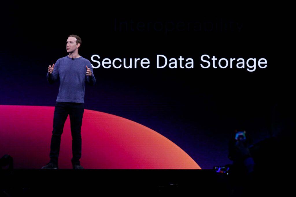 March Zuckerberg Facebook WhatsApp