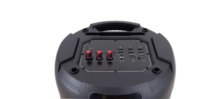 Bluetooth speaker Action