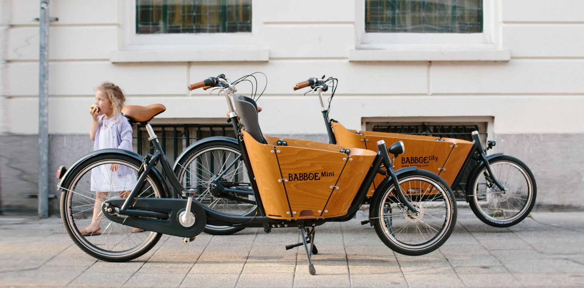 Babboe mini cargo elektrische fiets