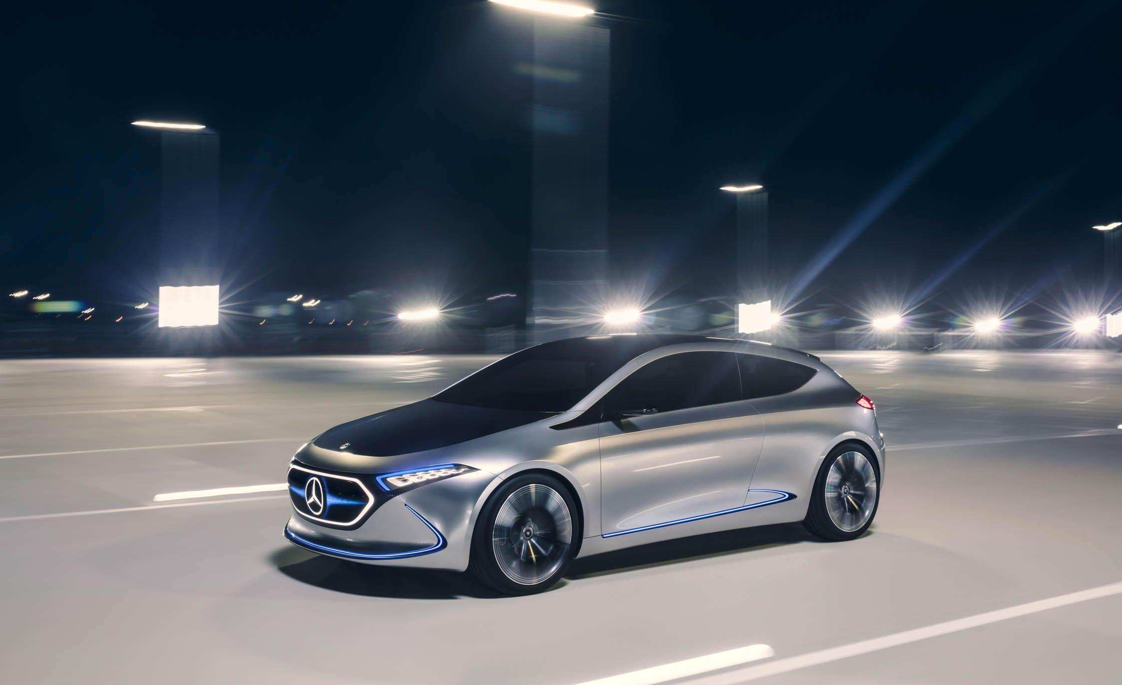 Mercedes-Benz EQA elektrische auto