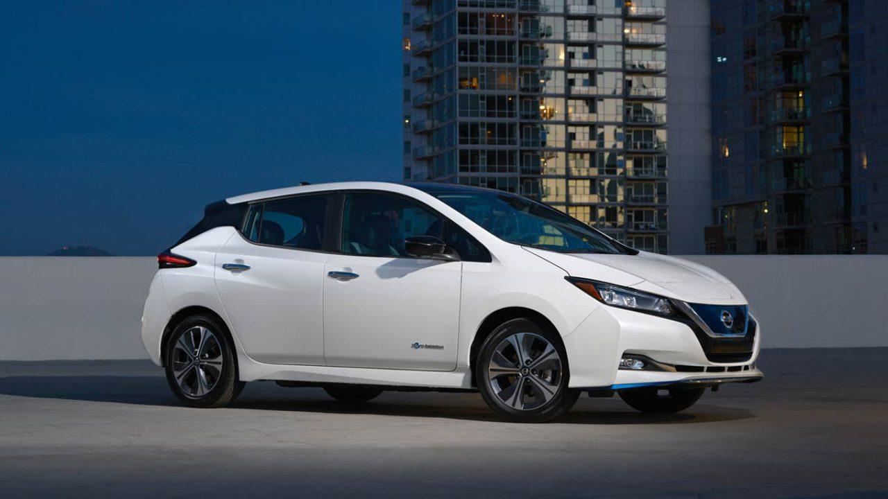 Nissan Leaf elektrische auto
