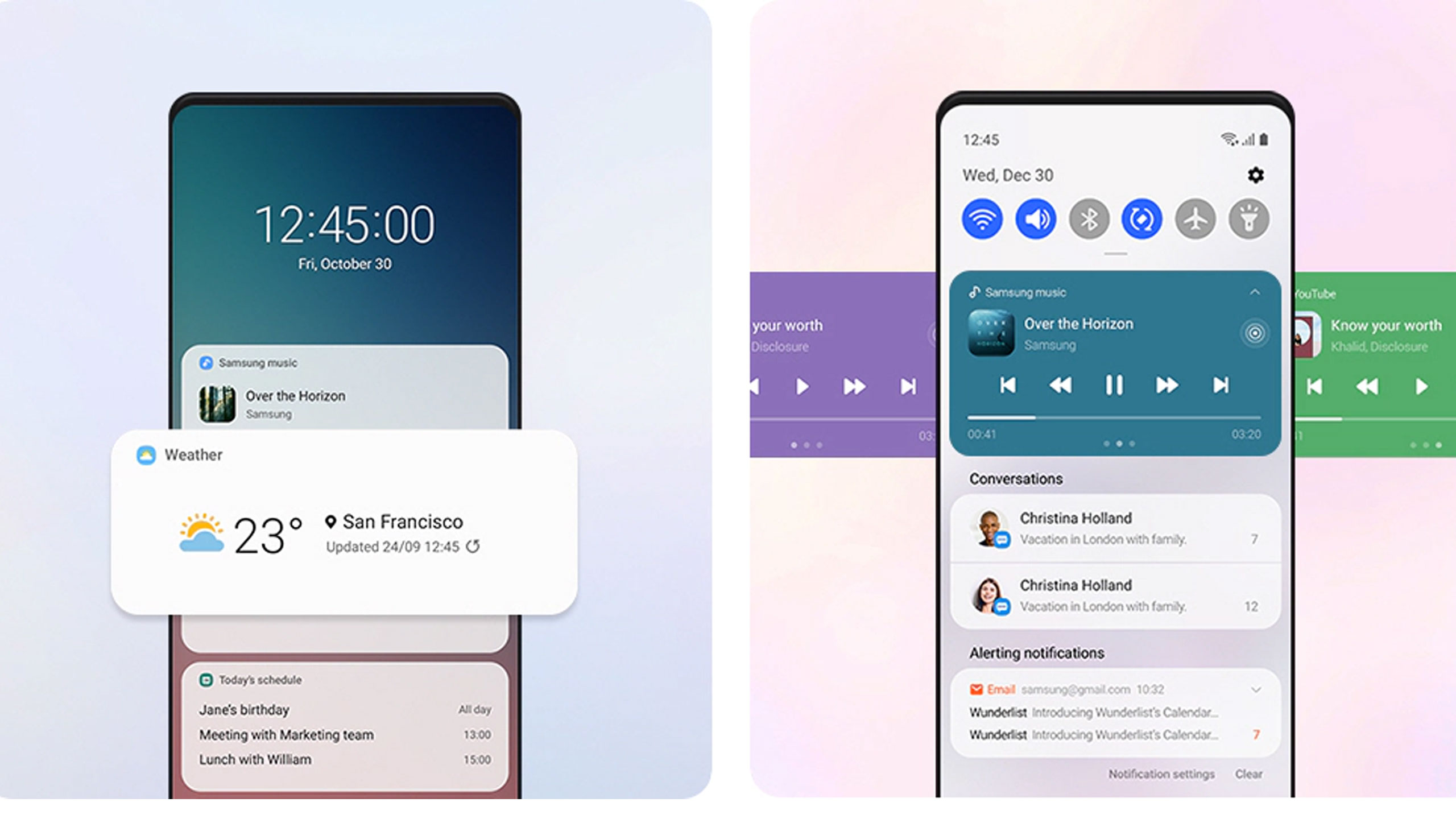 Samsung OneUI 3.0