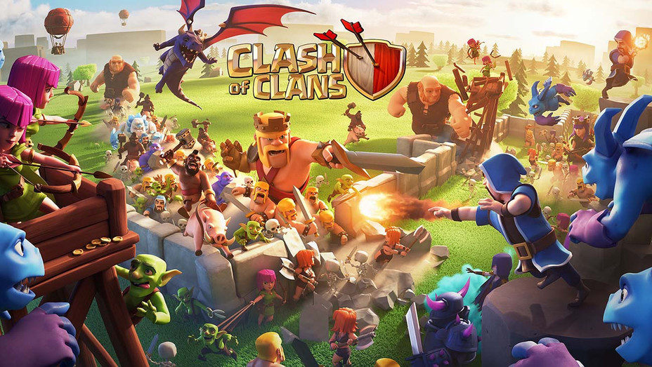Clash of Clans Android-spellen