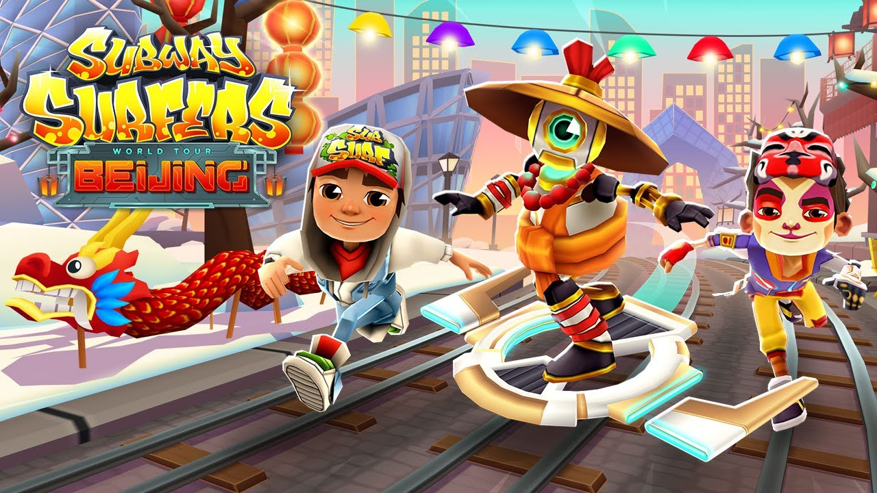 Subway Surfers Android-spellen