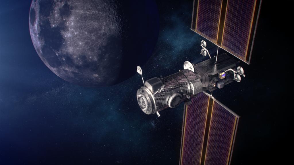 NASA en SpaceX werken samen voor bouw ruimtestation bij maan - Want